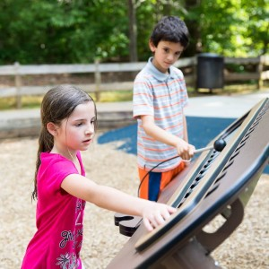 Crowder District Park: Playgrounds