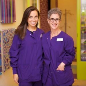 Dr. Laura & Dr. Rachel at Great Beginnings Pediatric Dentistry