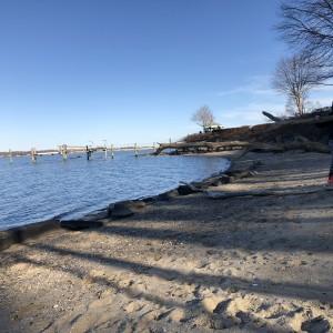 Goddard Memorial State Park Beach