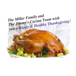 Jimmy's Cucina: We Cook You Gobble, Just Heat and Eat!!