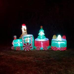 Santa's Magical Drive-Thru Christmas Display and Musical Light Show