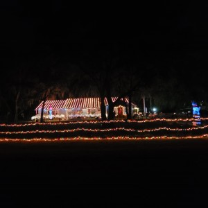 Chancey Road Holiday Display