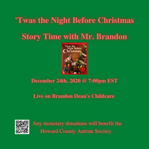 Story Time with Mr. Brandon
