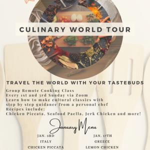 Culinary World Tour: America