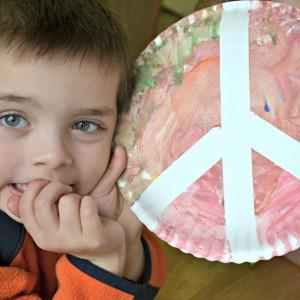 Make Peace Plates