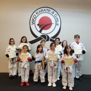 WKD Karate 4 Girls: Just 4 Girls Karate Camp