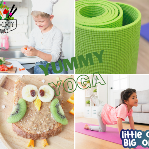 Things to do in Madison, WI: Yummy Yoga: Kids Culinary & Yoga Event!