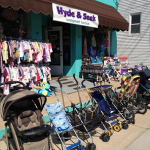 hyde & seek consignment boutique