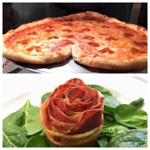 900 Degrees Wood Fired Pizza: Pepperoni Roses and Heart Shaped Pizzas