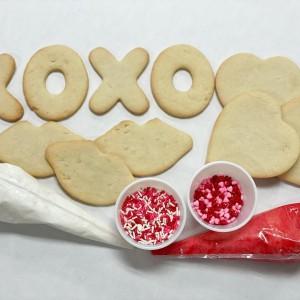 Bovella's Pastry Shoppe: DIY Valentine Cookie Kit