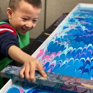 Remote Bespoke Interactive Silk Painting Class
