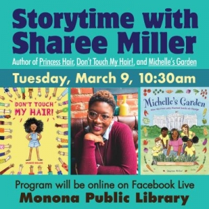 Madison, WI Events: Storytime with author Sharee Miller!