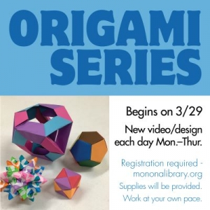Madison, WI Events: Origami Series