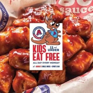 Arooga's (RT5 Warwick): Kids Eat Free!
