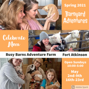 Madison, WI Events for Kids: Mother's Day- Farm Lambing & Kidding Days