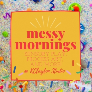 Things to do in Olathe, KS for Kids:  Messy Mornings - Spring Theme, Purpose Play