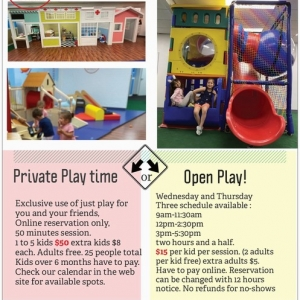 Open Play Wednesday and Thursday