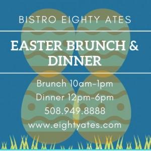 Eighty Ates Restaurant Group: Easter Brunch & Dinner