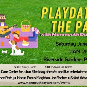 Things to do in Red Bank, NJ for Kids: Playdate in the Park, Monmouth Day Care Center