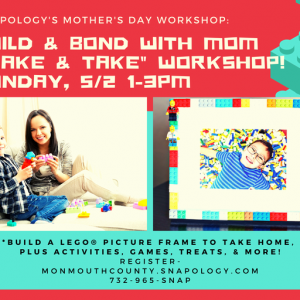 Red Bank, NJ Events: Mother's Day: Build & Bond Workshop