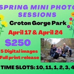 Westchester North, NY Events: Spring Mini Photo Sessions