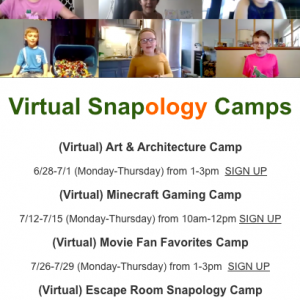 Red Bank, NJ Events: Snapology VIRTUAL Summer Camps