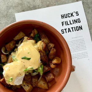 Huck's Filling Station: To-Go Platters Available