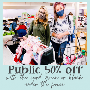 Apex-Cary, NC Events: Public 50% off - EverythingELSE Sale