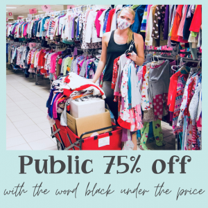 Apex-Cary, NC Events: Public 75% off - EverythingELSE Sale