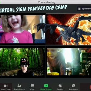 Worcester, MA Events: Virtual STEM Fantasy Day Camp Session 1