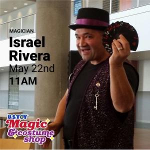 Olathe, KS Events for Kids: FREE Magic Show featuring Israel Rivera