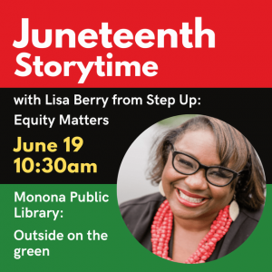 Madison, WI Events: Juneteenth Storytime with Lisa Berry!