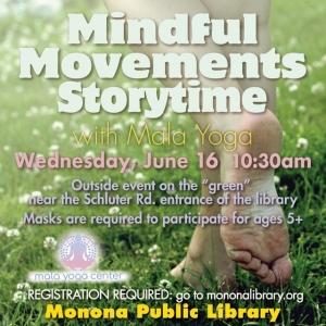 Madison, WI Events: Mindful Movements Storytime & Mala Yoga