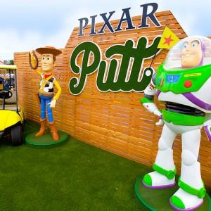 Pixar Putt Mini Golf Tour