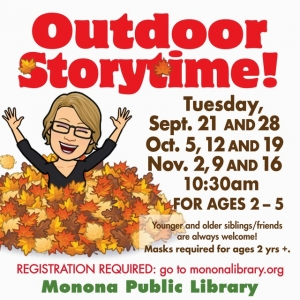 Madison, WI Events: Outdoor Storytime