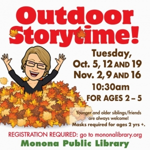 Madison, WI Events: OUTDOOR Storytime with Angelika 11/2