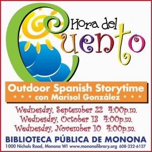 Madison, WI Events: Outdoor Spanish Storytime!