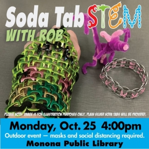 Madison, WI Events: Soda Tab STEM with Rob (Outdoor)