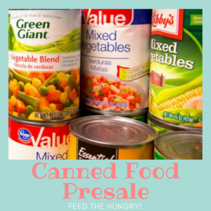 Canned Food Shopping Day-free tickets!