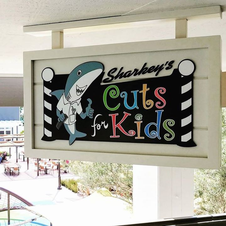 Sharkey's Cuts for Kids: Haircut Support
