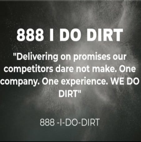 888 I Do Dirt Cleaning Services