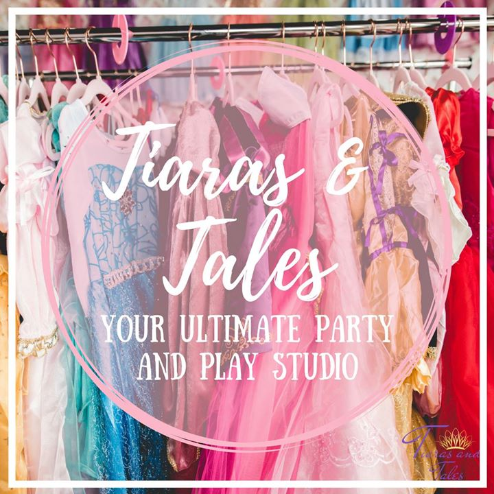 Tiaras and Tales, a children's party and play studio