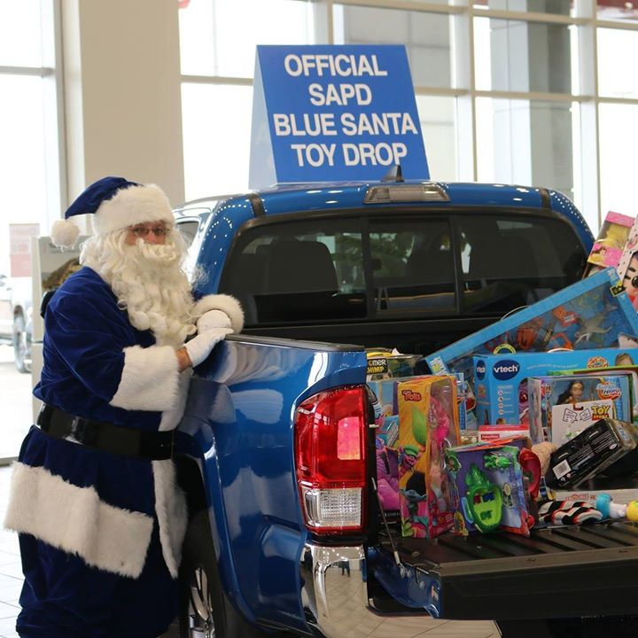 SAPD's Blue Santa: Donate a Gift