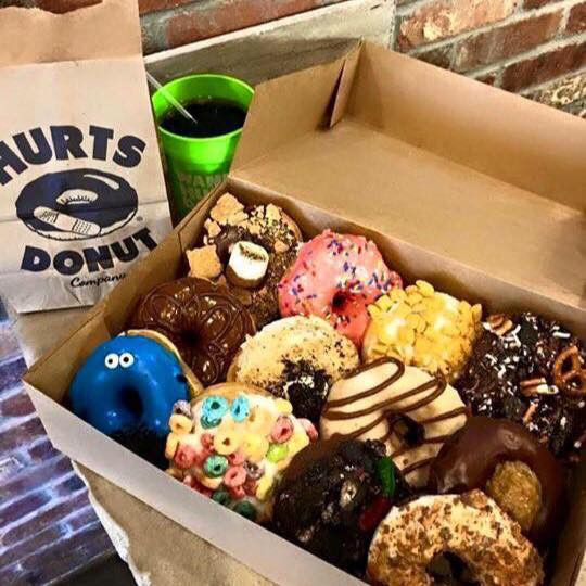 Hurts Donut - Middleton Wisconsin: D is for Donuts