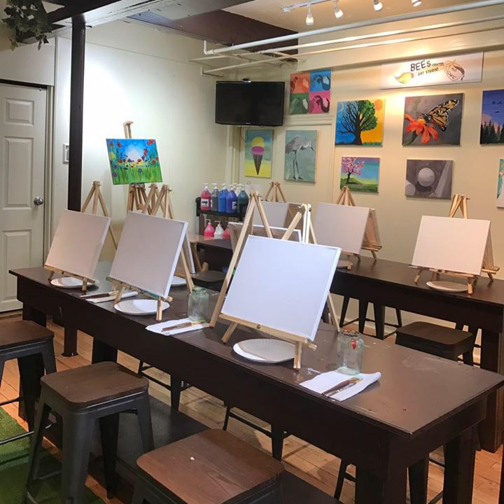 Bees Creative Art Studio and Cafe