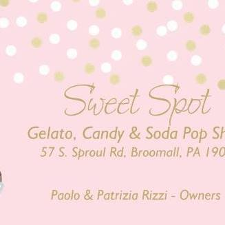 Sweet Spot, Gelato, Candy & Soda Pop Shop