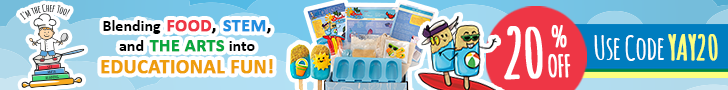 20% OFF I'M THE CHEF TOO! ADVENTURE KITS