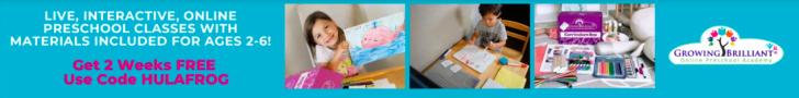 DEAL ALERT: 2 Weeks Free of Online Preschool with Growing Brilliant